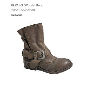 REPORT Signature | Woods Boot